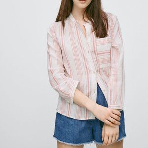 Aritzia Wilfred Free Casey Button Down Shirt